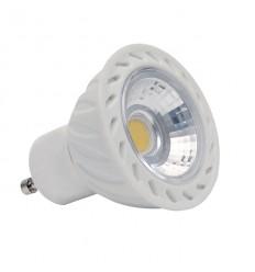 BEC LED,COB 7W(42W) DIM GU10-CW,6300K,500LM
