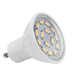 BEC LED 15C DIM- CW , 5.5 W(37W) , 6200-6800K, 430LM,GU10
