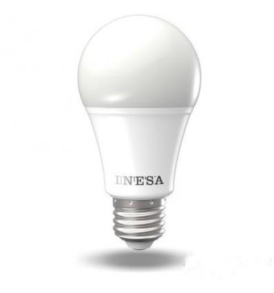 BEC LED E27 , 13W , A60 , 4000K , 1055LM , 180°, 15000H , INESA SYLVANIA