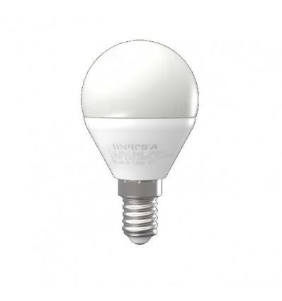 BEC LED E14 , 5W,3000K,470LM,160°, 15000 h, INESA SYLVANIA
