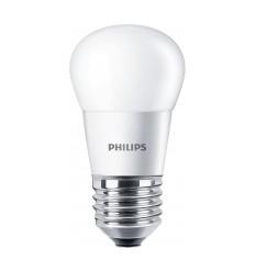 Bec led 5.5w echivalent 40w E27 lumina calda 827 ( 470lm) P45 fr 15000h corepro lustre.Philips