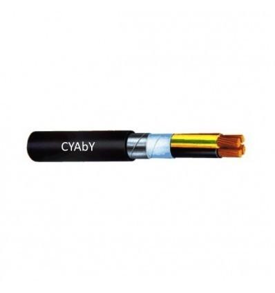 Cablu rigid CYABY-F 3 x 6mm