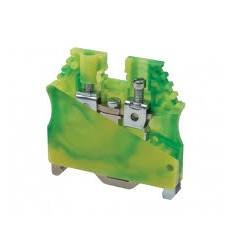 Clema racord impamantare 35 mmp , galben verde