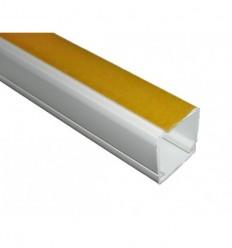 Canal pvc cu adeziv  20x10mm.  2ml